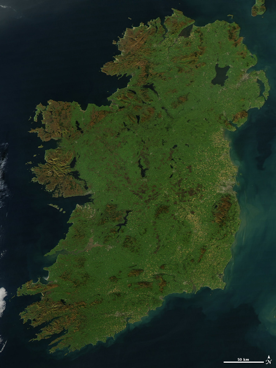 Cloudless Ireland