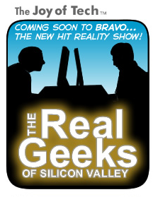 The Joy of Tech comic Real Geeks of Silicon Valley